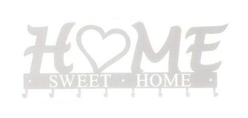 Wieszak ścienny Home Sweet Home 02 biały