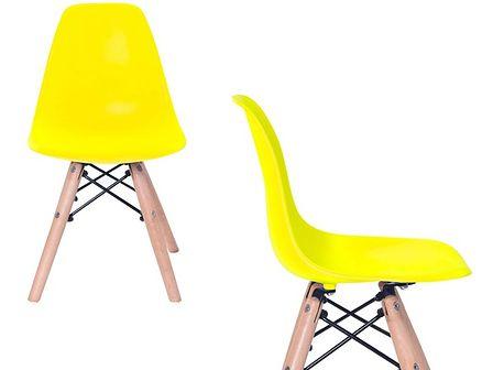 Krzesło dziecięce K-MASSIMO KIDS YELLOW