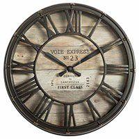 Zegar ścienny VOIE EXPRESS, Ø 21 cm