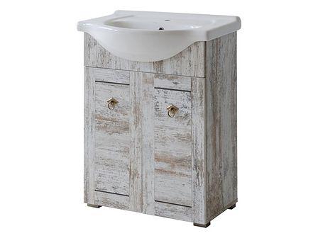 Prowansalska szafka z umywalką 65cm Prowansja