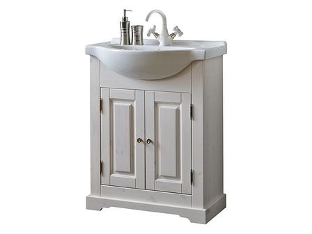 Drewnia szafka z umywalką 65cm Romantic