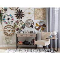 Beliani Zegar ścienny kolorowy BOSWIL