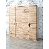 Drewniana Szafa dwudrzwiowa dębowa Dream Bedroom 3