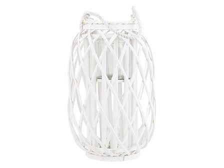 Lampion biały 40 cm MAURITIUS