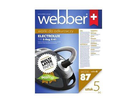 WEBBER Worki do odkurzaczy ELECTROLUX CLARIO E41-(87) 5 szt.