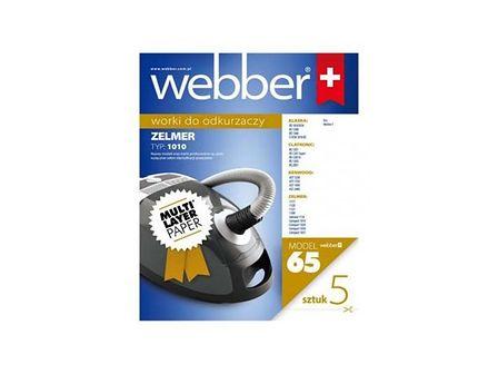 WEBBER Worki papierowe ZELMER 1010(65) 5 szt.
