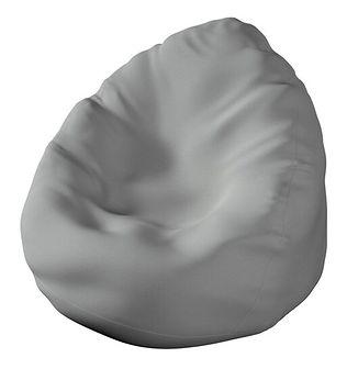 Worek do siedzenia Bowli, szary, Ø50 × 85 cm, Happiness