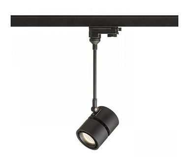 INDY 210 do szyny 3-faz. czarna 230V LED 10W 38° 3000K Redlux R12411