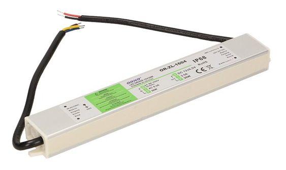 Zasilacz do LED DC12V, 30W, IP67, OR-ZL-1604, Orno