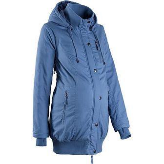 be4a9c67078499 Kurtka ciążowa Bpc Bonprix Collection niebieski