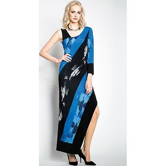 Sukienka Potis & Verso niebieski