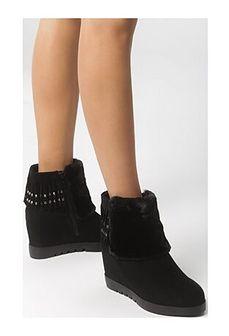 Sneakersy damskie Born2be czarny