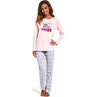 Piżama Cornette wielokolorowy