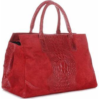 Kuferek Vera Pelle czerwony