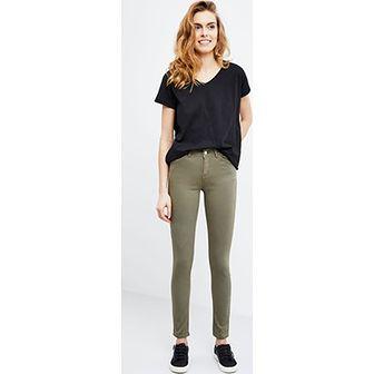 Spodnie damskie  zielony