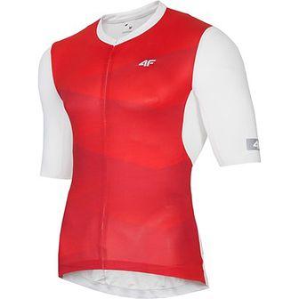 Odzież rowerowa 4F czerwony