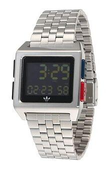 Zegarek Adidas Originals srebrny