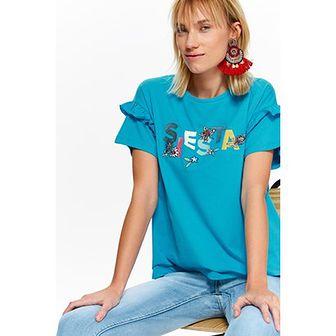 Bluzka damska Top Secret niebieski