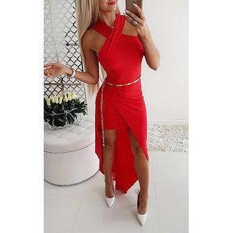 Sukienka Iwette Fashion czerwony