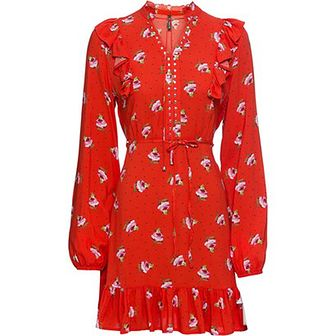 Sukienka Bonprix czerwony
