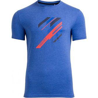 Koszulka sportowa Outhorn niebieska z bawełny
