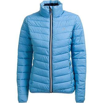 Niebieska kurtka damska Outhorn z poliestru