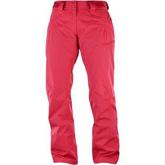 Spodnie sportowe Salomon różowe