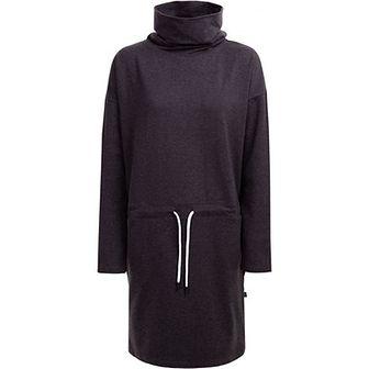 Sukienka Outhorn z golfem z długim rękawem