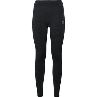 Czarna odzież termoaktywna Odlo na zimę gładka