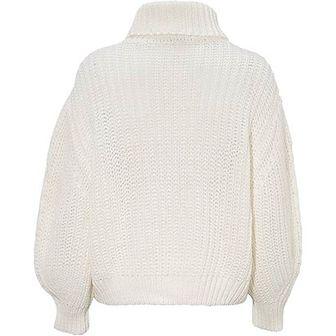 Soyaconcept sweter damski casualowy z golfem