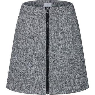 Spódnica Re.draft mini bez wzorów