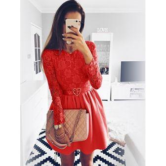 Sukienka Pakuten czerwony