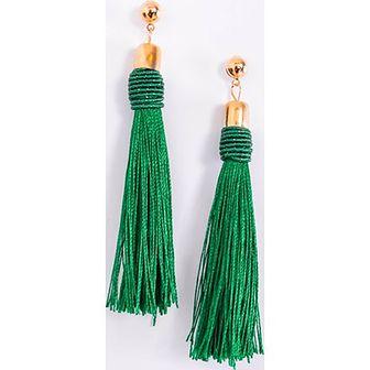 Zielone kolczyki Zoio