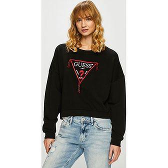 Bluza damska Guess Jeans w nadruki krótka