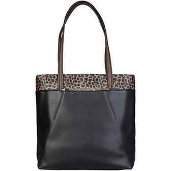 Shopper bag Cavalli Class czarny