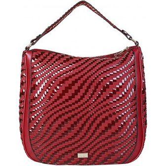 Shopper bag Cavalli Class czerwony