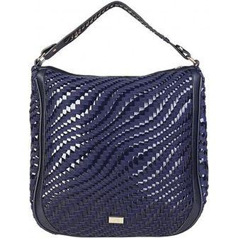 Shopper bag Cavalli Class niebieski