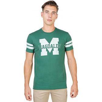 T-shirt męski Oxford University z krótkimi rękawami