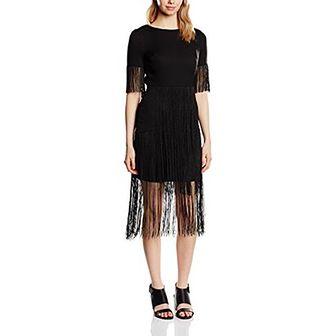Sukienka Lavish Alice z okrągłym dekoltem casualowa