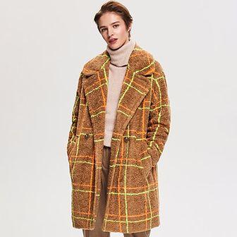 Reserved płaszcz damski