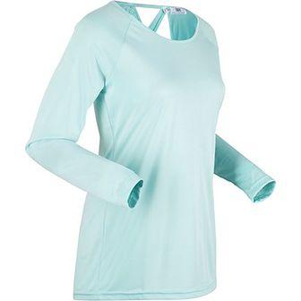Bluzka sportowa niebieska BPC Collection na narty gładka
