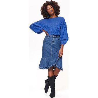 Top Secret sweter damski niebieski