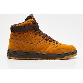 Żółte buty sportowe męskie Cropp sznurowane