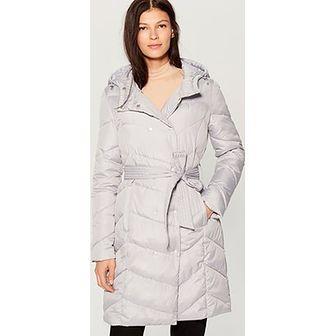 Płaszcz damski Mohito biały