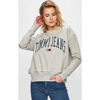Bluza damska Tommy Jeans z bawełny krótka