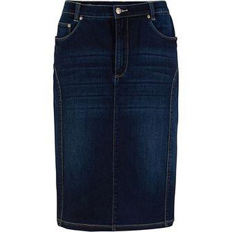 Spódnica niebieska BPC Collection midi