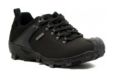 Buty trekkingowe damskie czarne Testudo
