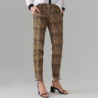 Spodnie damskie Mohito brązowe