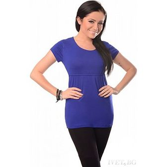 Bluzka ciążowa IVET niebieski