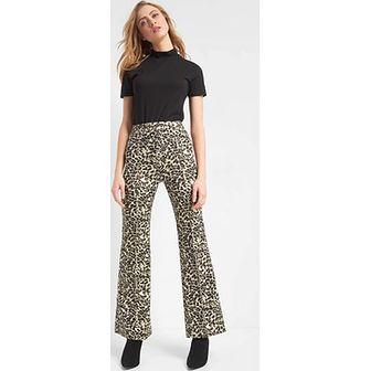 Spodnie damskie ORSAY brązowe tkaninowe